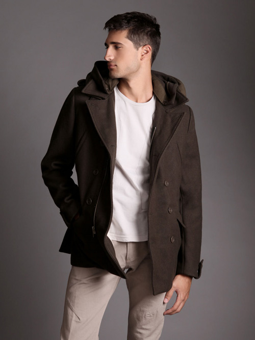 nice collective wool peacoat