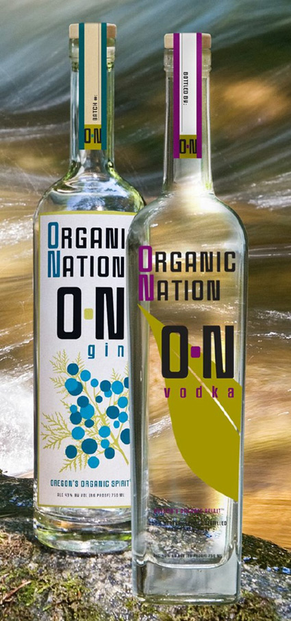 organic nation vodka and gin