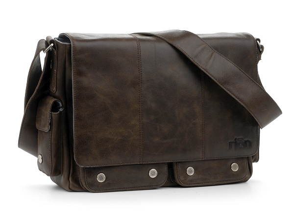 rian leather messenger bag