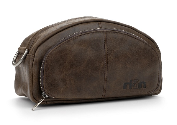 rian leather dopkit bag