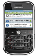 Tripit App for Blackberry