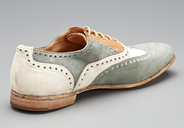 Suede Antonio Maurizi Oxfords