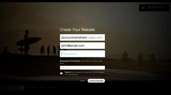 Squarespace web design beta