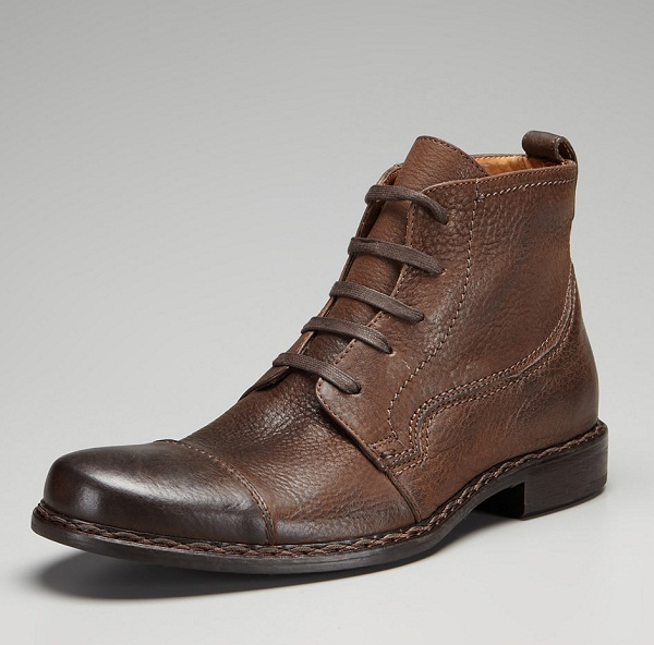 John Varvatos Leather Boots