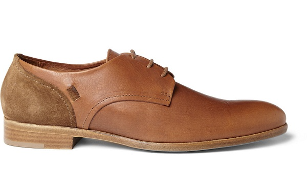 suede derby leather