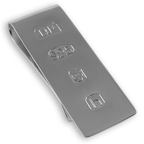 James Bond Sliver Money Clip