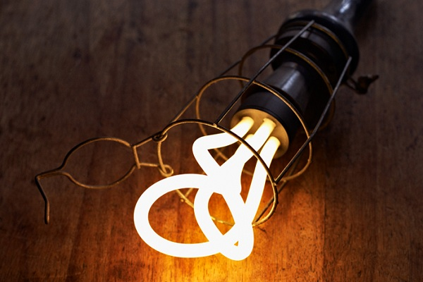 designer energy efficient bulb