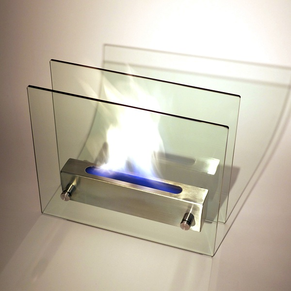 Steel Glass Flame