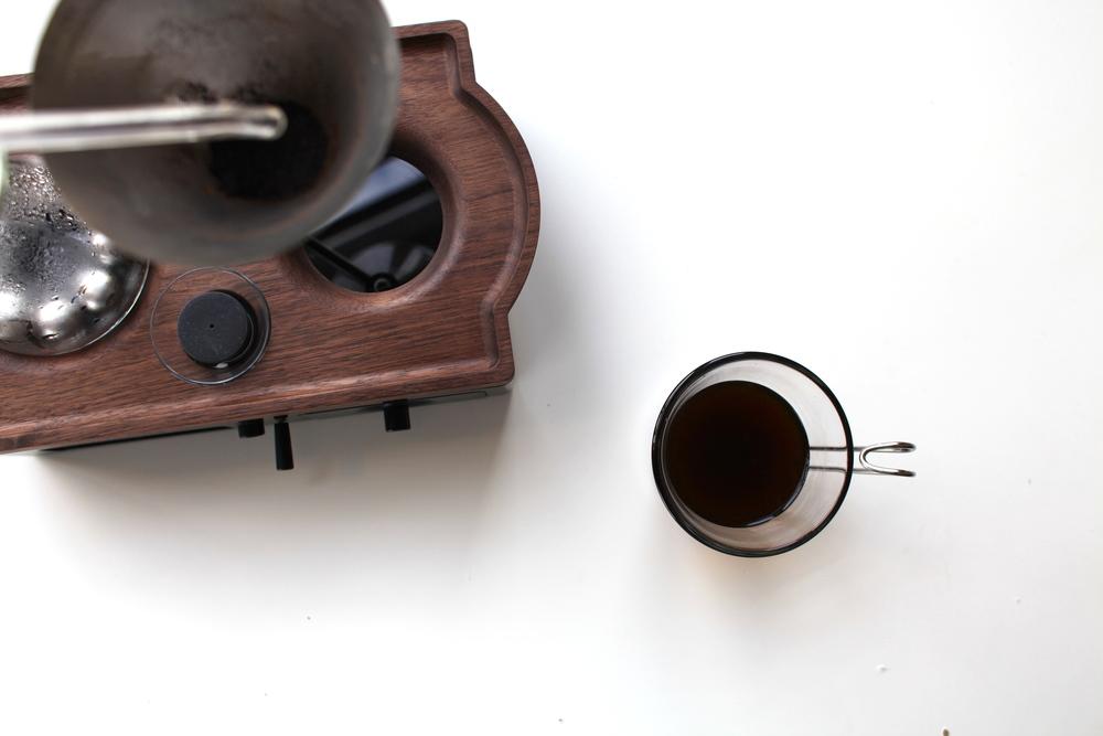 the barisieur coffee clock