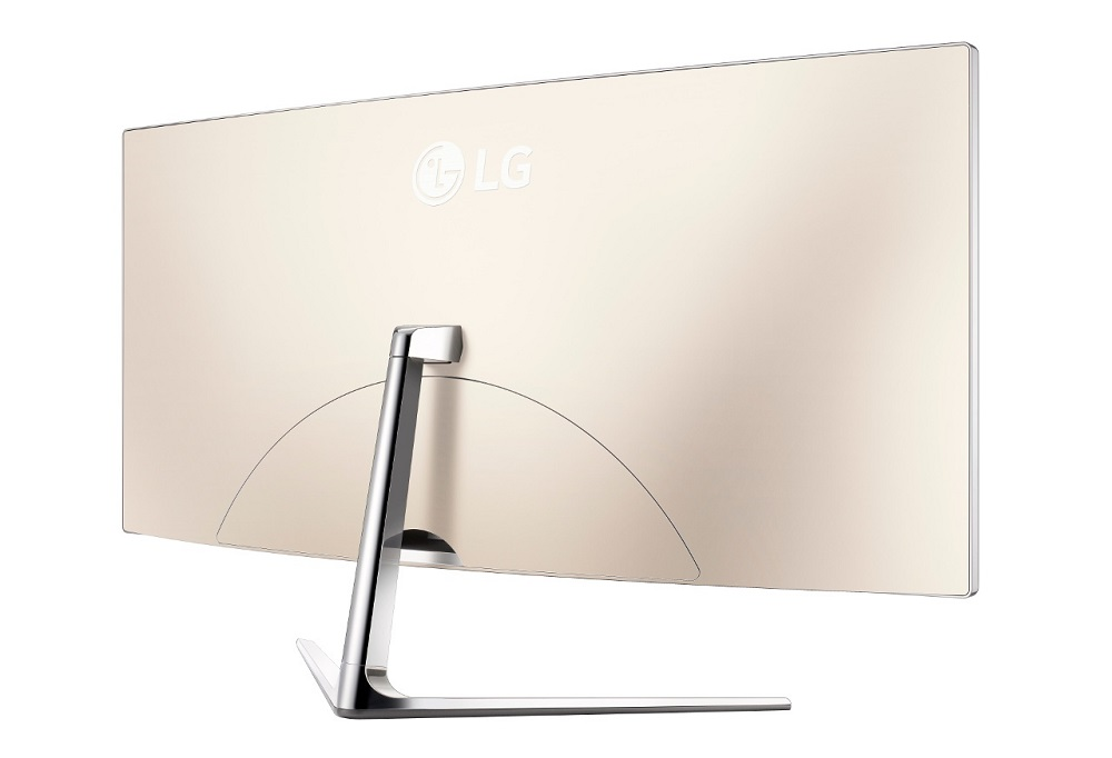 curved HD monitor